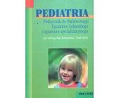 Szczegóły książki PEDIATRIA
