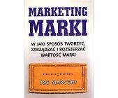 Szczegóły książki MARKETING MARKI