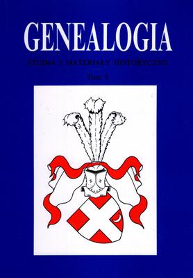 GENEALOGIA - TOM 8