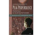 Szczegóły książki PEAK PERFORMANCE. PREZENTACJE NA NAJWYŻSZYM POZIOMIE