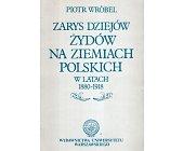 Szczegóły książki ZARYS DZIEJÓW ŻYDOW NA ZIEMIACH POLSKICH W LATACH 1880-1918