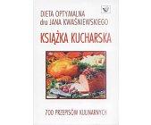 Szczegóły książki DIETA OPTYMALNA - KSIĄŻKA KUCHARSKA