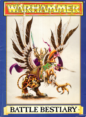 WARHAMMER - BATTLE BESTIARY (RPG)
