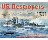 Szczegóły książki US DESTROYERS IN ACTION, PART 2