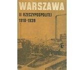 Szczegóły książki WARSZAWA II RZECZYPOSPOLITEJ 1918 - 1939 - ZESZYT 2