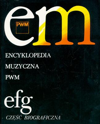 ENCYKLOPEDIA MUZYCZNA - TOM 3