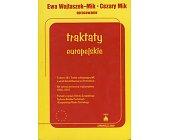 Szczegóły książki TRAKTATY EUROPEJSKIE