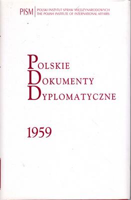 POLSKIE DOKUMENTY DYPLOMATYCZNE