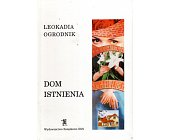 Szczegóły książki DOM ISTNIENIA