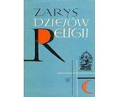 Szczegóły książki ZARYS DZIEJÓW RELIGII