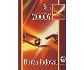 Szczegóły książki BURZA LODOWA