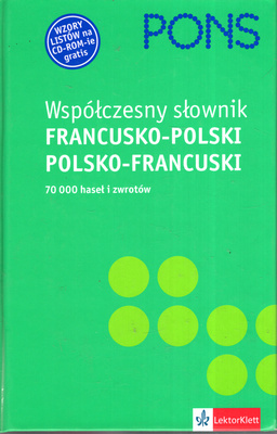 WSPÓŁCZESNY SŁOWNIK FRANCUSKO POLSKI, POLSKO FRANCUSKI