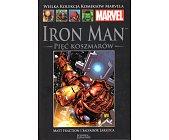 Szczegóły książki IRON MAN: PIĘĆ KOSZMARÓW (MARVEL 18)