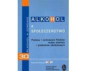 Szczegóły książki ALKOHOL A SPOŁECZEŃSTWO