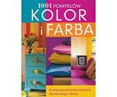 Szczegóły książki 1001 POMYSŁÓW - KOLOR I FARBA