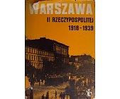 Szczegóły książki WARSZAWA II RZECZYPOSPOLITEJ 1918-1939 - ZESZYT 4