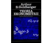 Szczegóły książki TEORIA EKONOMETRII