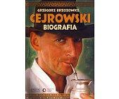Szczegóły książki CEJROWSKI - BIOGRAFIA