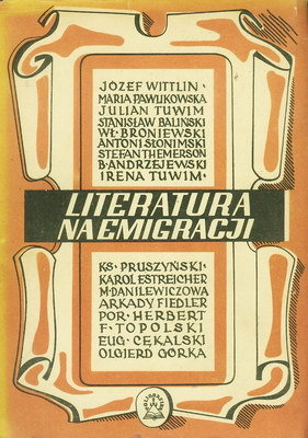 LITERATURA NA EMIGRACJI (1946 R.)