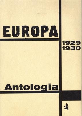 EUROPA 1929 - 1930. ANTOLOGIA