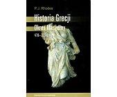 Szczegóły książki HISTORIA GRECJI. OKRES KLASYCZNY 478-323 P.N.E.