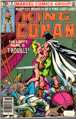 KING CONAN - THE LADY'S NAME IS TROUBLE!