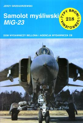 SAMOLOT MYŚLIWSKI MIG - 23
