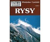 Szczegóły książki RYSY (TATRY - PRZEWODNIK SZCZEGÓŁOWY, TOM 9)