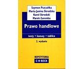 Szczegóły książki PRAWO HANDLOWE