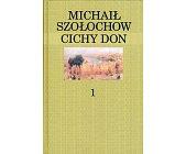 Szczegóły książki CICHY DON - 4 TOMY (KANON NA KONIEC WIEKU)