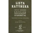 Szczegóły książki LISTA KATYŃSKA