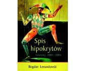 Szczegóły książki SPIS HIPOKRYTÓW