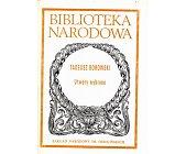 Szczegóły książki UTWORY WYBRANE