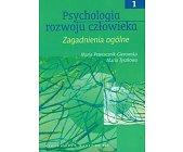Szczegóły książki PSYCHOLOGIA ROZWOJU CZŁOWIEKA -  3 TOMY