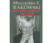 Szczegóły książki DZIENNIKI POLITYCZNE 1987 - 1990