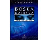Szczegóły książki BOSKA MATRYCA