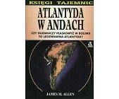 Szczegóły książki ATLANTYDA W ANDACH