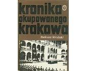 Szczegóły książki KRONIKA OKUPOWANEGO KRAKOWA