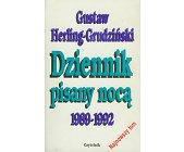 Szczegóły książki DZIENNIK PISANY NOCĄ 1989-1992