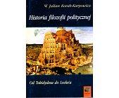 Szczegóły książki HISTORIA FILOZOFII POLITYCZNEJ