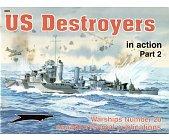 Szczegóły książki US DESTROYER IN ACTION (2)