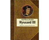Szczegóły książki RYSZARD III