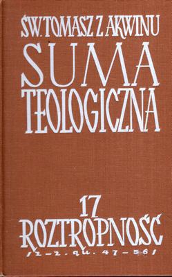 SUMA TEOLOGICZNA - 17 - ROZTROPNOŚĆ