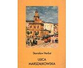 Szczegóły książki ULICA MARSZAŁKOWSKA