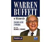 Szczegóły książki WARREN BUFFETT O BIZNESIE