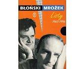 Szczegóły książki LISTY 1963-1996