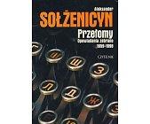 Szczegóły książki PRZEŁOMY - OPOWIADANIA ZEBRANE 1959 - 1998