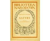 Szczegóły książki SATYRY