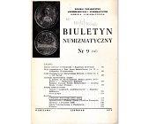 Szczegóły książki BIULETYN NUMIZMATYCZNY NR 9 (147)