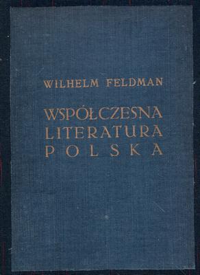 WSPÓŁCZESNA LITERATURA POLSKA